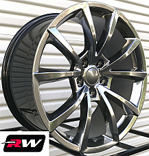 20 RW Wheels for Dodge Durango Hyper Silver Rims Grand Cherokee Trackhawk Style