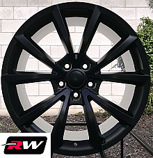Jeep Grand Cherokee OE Replica Wheels 20 inch 20x10 SRT Satin Black Rims 5x127