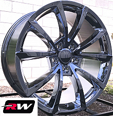 20 RW Wheels for Dodge Durango Chrome Jeep Grand Cherokee Trackhawk Style Rims
