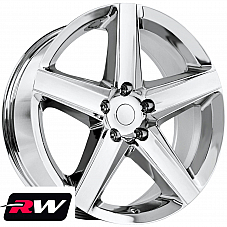 20 inch RW Wheels for Jeep Grand Cherokee 20x9 20x10 Chrome Rims SRT8 2006