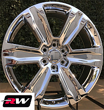 Ford F-150 OE Factory Replica Wheels 2016 2017 2018 2019 Platinum 22 inch Chrome