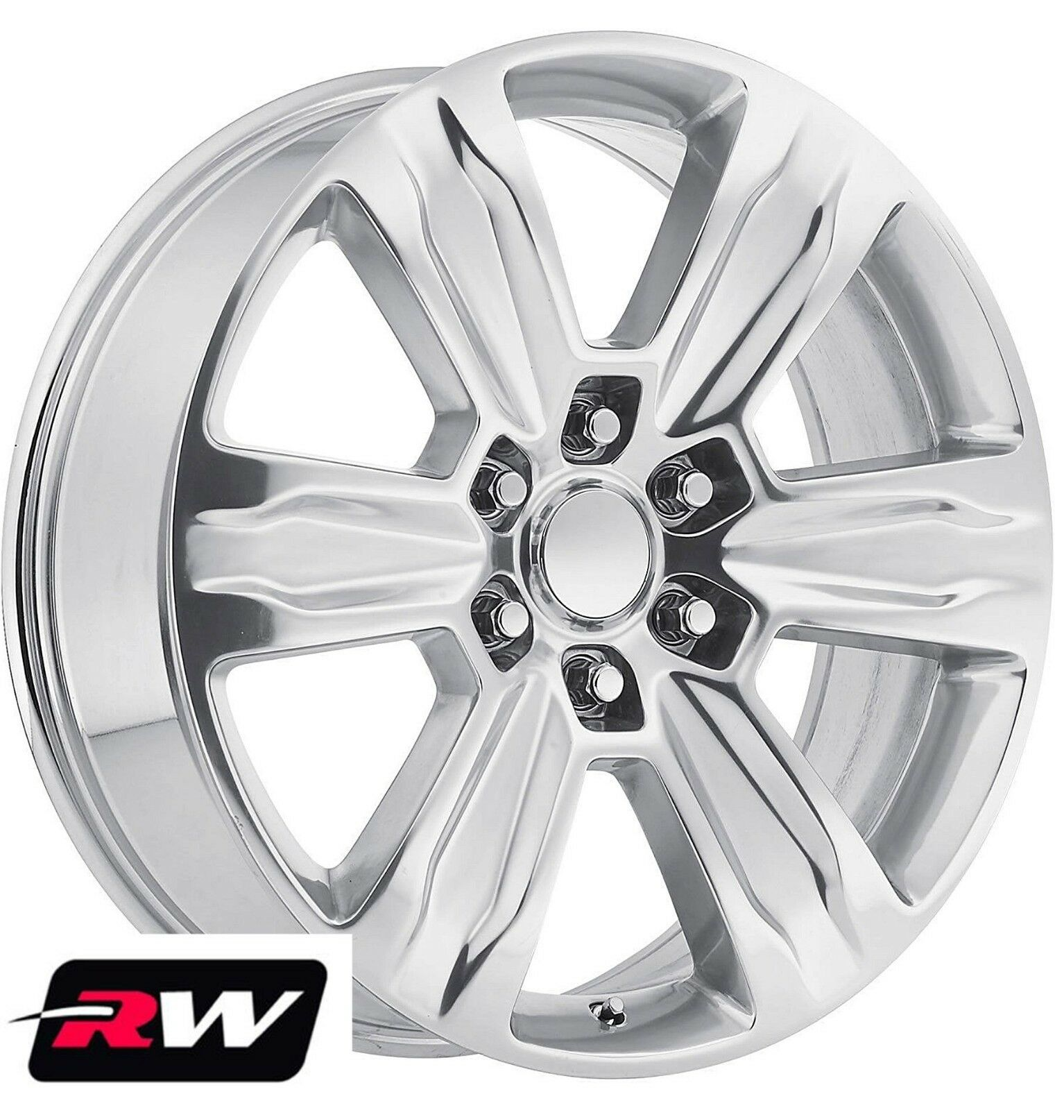 Ford F150 Wheels >> Ford F 150 Oe Factory Replica Wheels 2015 2016 2017 Platinum 22 Inch Polished